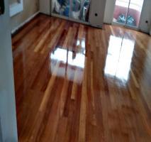 Aplicação de resina em piso