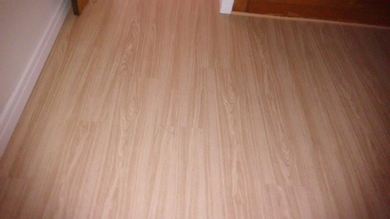 Instalação rodapé piso laminado